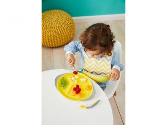Dětský talířek-žlutá 3