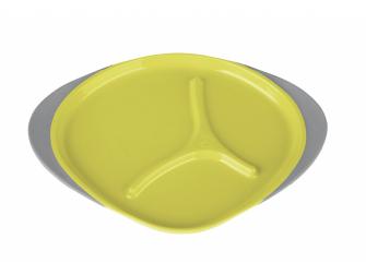 Dětský talířek-žlutá