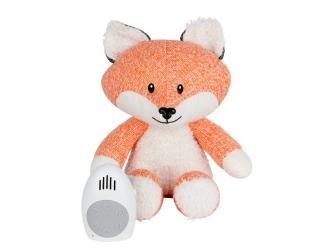 Hračka s tlukotem srdce Robin the Fox Orange