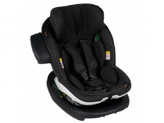 IZi Modular X1 i-Size Premium Car Interior Black, autosedačka 61-105 cm 4