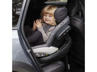 IZi Modular X1 i-Size Premium Car Interior Black, autosedačka 61-105 cm 7