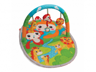 Hrací deka s hrazdou Jungle Gym