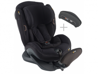 iZi Plus X1 premium car interior black 50 autosedačka 0-25 kg 2