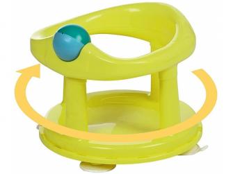 Dětské sedátko do vany otočné Lime 2