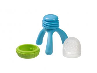 Krmící dudlík a kousátko - modrý 3