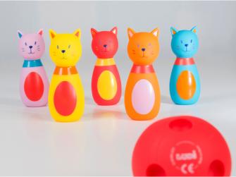 Bowling pro nejmenší Kočičky 2