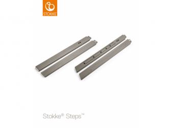 Nohy k židličce Steps™, buk - Storm Grey