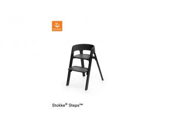 Židlička Steps™ Černá / Černý dub