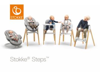 Polstrování baby k židličce Steps™ - Black 3