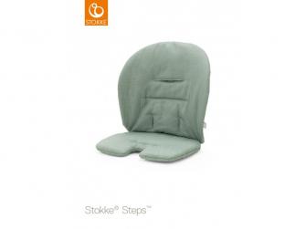 Polstrování baby k židličce Steps™ - Timeless Green (Organic Cotton)
