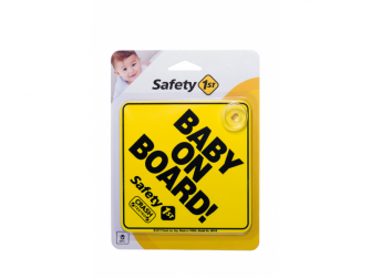 Štítek Baby On Board do auta Yellow 3