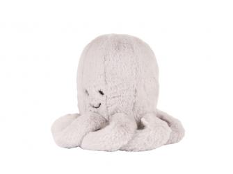 Hračka s tlukotem srdce Olly the Octopus Grey