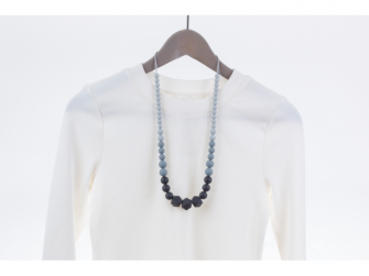 Kojící korále Zara - černé 2