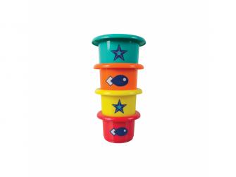 Sada hraček do koupele Opičky 3