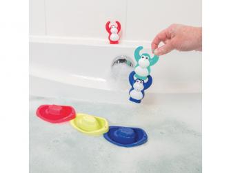 Sada hraček do koupele Opičky 6