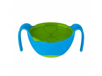 Miska s brčkem -modrá 3
