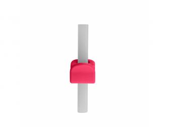 Miska s brčkem - růžová 5