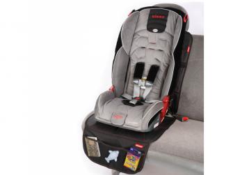 chránič autosedadla Ultra Mat Black 2ks 3