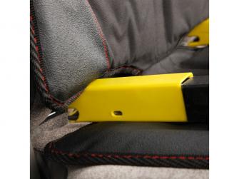 chránič autosedadla Ultra Mat Black 2ks 5