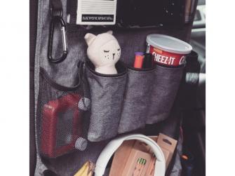 Chránič autosedadla Stow´n Go XL Grey 12