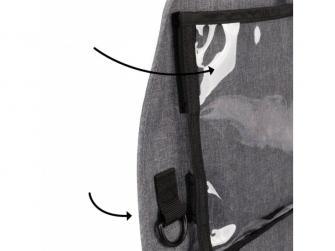 Chránič autosedadla Stow´n Go XL Grey 3