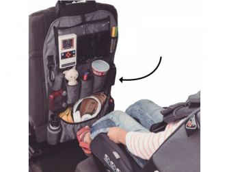 Chránič autosedadla Stow´n Go XL Grey 7