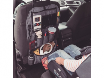 Chránič autosedadla Stow´n Go XL Grey 8