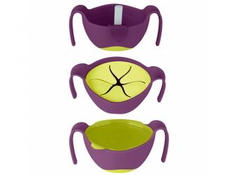 Miska s brčkem -fialová 5
