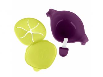 Miska s brčkem -fialová 6