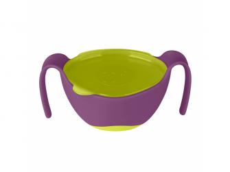 Miska s brčkem -fialová 2