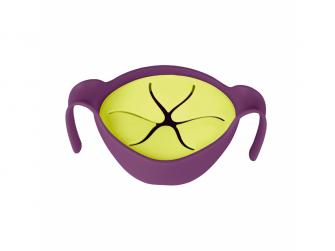 Miska s brčkem -fialová 4