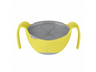 Miska s brčkem - žlutá 3