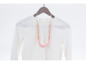 Kojící korále Zara - řůžové 2