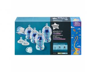 Sada kojeneckých lahviček C2N ANTI-COLIC s kartáčem Blue 3