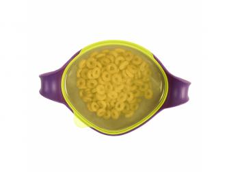Miska s brčkem XL-fialová 3