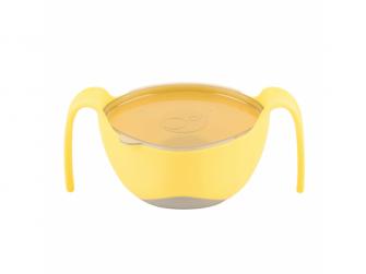Miska s brčkem XL-žlutá 7
