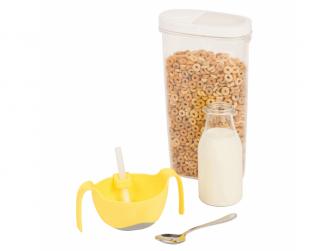 Miska s brčkem XL-žlutá 5