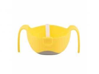 Miska s brčkem XL-žlutá 6