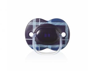 Šidítko C2N silikon Little London Boy 6-18m