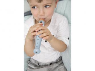 Dřevěná flétna blue 3
