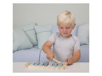 Dřevěný xylofon blue 2