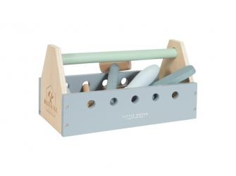 Dřevěné nářadí v boxu (15 dílů + box) 3