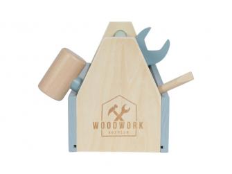 Dřevěné nářadí v boxu (15 dílů + box) 4