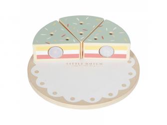 Dřevěný dort 2