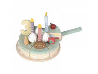 Dřevěný dort 3