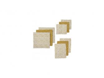 9 ks startovací balení Cheetah honey gold( 3ks 70x70, 3ks 30x30, 3 ks 17x20 )