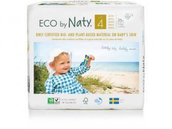 Plenky Naty 4 Maxi 7 - 18 kg (26 ks) - NOVÉ BALENÍ