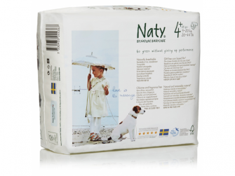 Plenky Nature Babycare Maxi+ 9 - 20kg (25 ks)