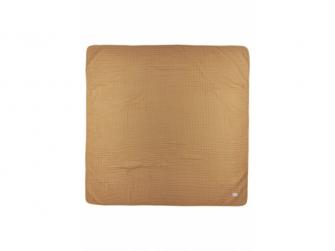 mušelínová osuška velká 120x120cm Uni warm sand/warm white 2