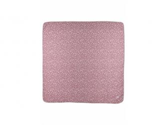 mušelínová osuška velká 120x120cm Bubbles lilac 2